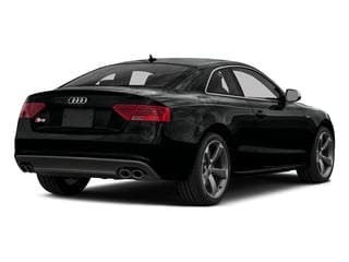 Mythos Black Metallic 2016 Audi S5 Pictures S5 Coupe 2D S5 Prestige AWD photos rear view