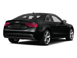 Mythos Black Metallic 2016 Audi A5 Pictures A5 Coupe 2D Premium Plus AWD photos rear view