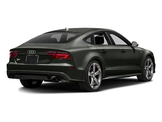 Daytona Gray Pearl Effect 2016 Audi S7 Pictures S7 Sedan 4D S7 Prestige AWD photos rear view
