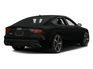 Mythos Black Metallic 2016 Audi RS 7 Pictures RS 7 Sedan 4D RS7 Performance AWD V8 photos rear view