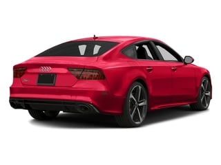 Misano Red Pearl Effect 2016 Audi RS 7 Pictures RS 7 Sedan 4D Prestige AWD photos rear view