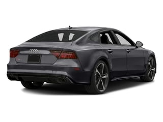 Nardo Gray 2016 Audi RS 7 Pictures RS 7 Sedan 4D Prestige AWD photos rear view