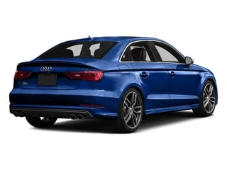 Sepang Blue Pearl Effect 2016 Audi S3 Pictures S3 Sedan 4D Premium Plus AWD I4 Turbo photos rear view