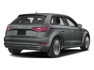 Monsoon Gray Metallic 2016 Audi A3 e-tron Pictures A3 e-tron Hatchback 5D E-tron Prestige photos rear view