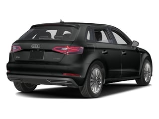 Mythos Black Metallic 2016 Audi A3 e-tron Pictures A3 e-tron Hatchback 5D E-tron Prestige photos rear view