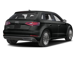 Mythos Black Metallic 2016 Audi A3 e-tron Pictures A3 e-tron Hatchback 5D E-tron Premium photos rear view