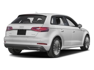 Glacier White Metallic 2016 Audi A3 e-tron Pictures A3 e-tron Hatchback 5D E-tron Prestige photos rear view