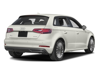 Ibis White 2016 Audi A3 e-tron Pictures A3 e-tron Hatchback 5D E-tron Prestige photos rear view
