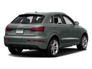 Monsoon Gray Metallic 2016 Audi Q3 Pictures Q3 Utility 4D 2.0T Prestige 2WD photos rear view