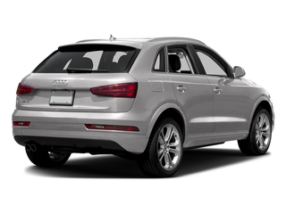 Cuvee Silver Metallic 2016 Audi Q3 Pictures Q3 Utility 4D 2.0T Prestige 2WD photos rear view