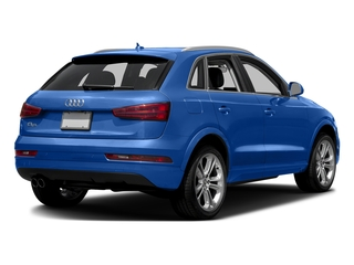 Hainan Blue Metallic 2016 Audi Q3 Pictures Q3 Utility 4D 2.0T Prestige 2WD photos rear view