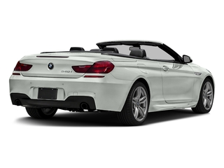 Alpine White 2016 BMW 6 Series Pictures 6 Series Convertible 2D 640xi AWD I6 photos rear view