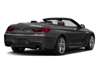 Jet Black 2016 BMW 6 Series Pictures 6 Series Convertible 2D 640xi AWD I6 photos rear view