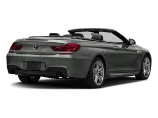 Space Gray Metallic 2016 BMW 6 Series Pictures 6 Series Convertible 2D 640xi AWD I6 photos rear view