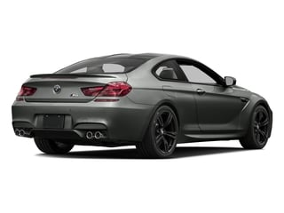 Space Gray Metallic 2016 BMW M6 Pictures M6 Coupe 2D M6 V8 photos rear view