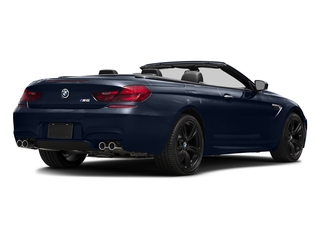 Imperial Blue Metallic 2016 BMW M6 Pictures M6 Convertible 2D M6 V8 photos rear view