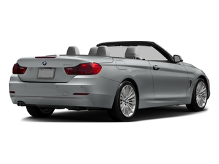 Glacier Silver Metallic 2016 BMW 4 Series Pictures 4 Series Convertible 2D 428xi AWD I4 Turbo photos rear view