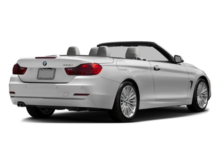 Mineral White Metallic 2016 BMW 4 Series Pictures 4 Series Convertible 2D 428xi AWD I4 Turbo photos rear view