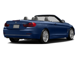 Estoril Blue Metallic 2016 BMW 4 Series Pictures 4 Series Convertible 2D 428xi AWD I4 Turbo photos rear view