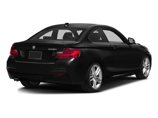 Black Sapphire Metallic 2016 BMW 2 Series Pictures 2 Series Coupe 2D 228i I4 Turbo photos rear view