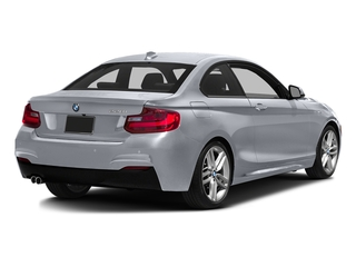 Glacier Silver Metallic 2016 BMW 2 Series Pictures 2 Series Coupe 2D 228i I4 Turbo photos rear view