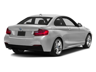 Mineral White Metallic 2016 BMW 2 Series Pictures 2 Series Coupe 2D 228i I4 Turbo photos rear view