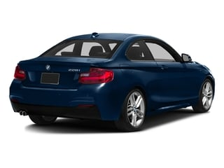 Midnight Blue Metallic 2016 BMW 2 Series Pictures 2 Series Coupe 2D 228i I4 Turbo photos rear view