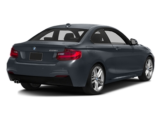 Mineral Gray Metallic 2016 BMW 2 Series Pictures 2 Series Coupe 2D 228i I4 Turbo photos rear view