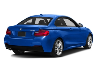 Estoril Blue Metallic 2016 BMW 2 Series Pictures 2 Series Coupe 2D 228i I4 Turbo photos rear view