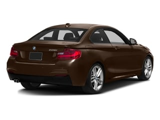 Sparkling Brown Metallic 2016 BMW 2 Series Pictures 2 Series Coupe 2D 228i I4 Turbo photos rear view