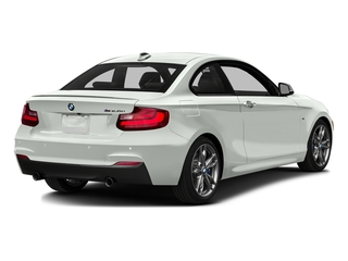 Alpine White 2016 BMW 2 Series Pictures 2 Series Coupe 2D M235i I6 Turbo photos rear view