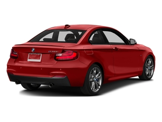 Melbourne Red Metallic 2016 BMW 2 Series Pictures 2 Series Coupe 2D M235i I6 Turbo photos rear view