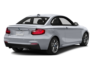 Glacier Silver Metallic 2016 BMW 2 Series Pictures 2 Series Coupe 2D M235i I6 Turbo photos rear view