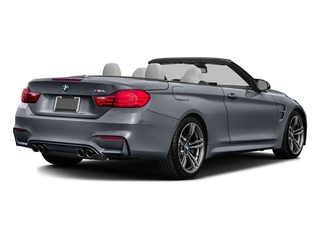 Mineral Gray Metallic 2016 BMW M4 Pictures M4 Convertible 2D M4 I6 Turbo photos rear view