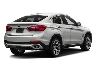 Mineral Silver Metallic 2016 BMW X6 Pictures X6 Utility 4D xDrive50i AWD V8 Turbo photos rear view