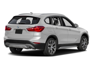 Mineral White Metallic 2016 BMW X1 Pictures X1 Utility 4D 28i AWD I4 Turbo photos rear view