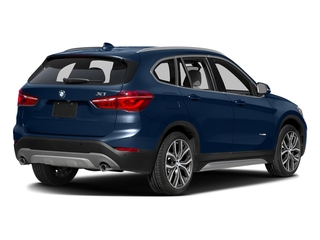 Mediterranean Blue Metallic 2016 BMW X1 Pictures X1 Utility 4D 28i AWD I4 Turbo photos rear view