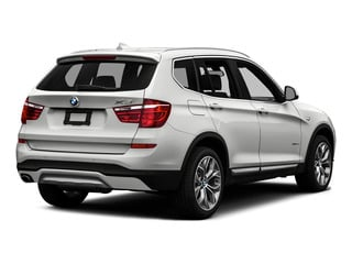 Mineral Silver Metallic 2016 BMW X3 Pictures X3 Utility 4D 35i AWD I6 Turbo photos rear view
