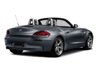Mineral Gray Metallic 2016 BMW Z4 Pictures Z4 Roadster 2D Z4 35is I6 photos rear view