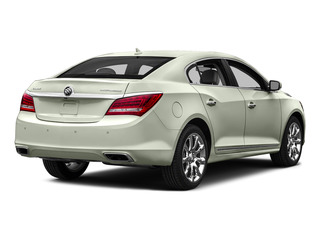 White Frost Tricoat 2016 Buick LaCrosse Pictures LaCrosse Sedan 4D Leather V6 photos rear view