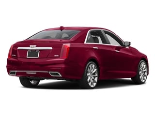 Red Obsession Tintcoat 2016 Cadillac CTS Sedan Pictures CTS Sedan 4D Luxury I4 Turbo photos rear view