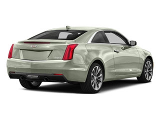 Crystal White Tricoat 2016 Cadillac ATS Coupe Pictures ATS Coupe 2D Performance V6 photos rear view