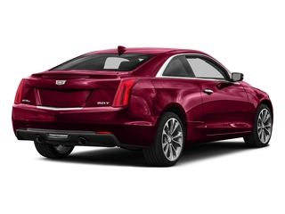 Red Obsession Tintcoat 2016 Cadillac ATS Coupe Pictures ATS Coupe 2D Performance V6 photos rear view