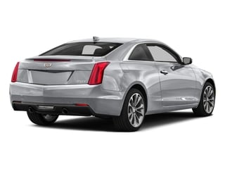 Radiant Silver Metallic 2016 Cadillac ATS Coupe Pictures ATS Coupe 2D Performance V6 photos rear view