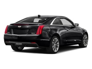 Stellar Black Metallic 2016 Cadillac ATS Coupe Pictures ATS Coupe 2D Performance V6 photos rear view