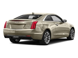 Silver Coast Metallic 2016 Cadillac ATS Coupe Pictures ATS Coupe 2D Performance V6 photos rear view