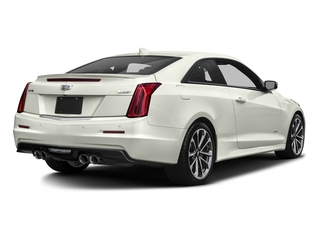 Crystal White Tricoat 2016 Cadillac ATS-V Coupe Pictures ATS-V Coupe 2D V-Series V6 Turbo photos rear view
