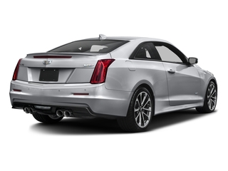 Radiant Silver Metallic 2016 Cadillac ATS-V Coupe Pictures ATS-V Coupe 2D V-Series V6 Turbo photos rear view