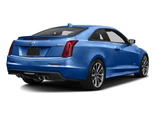 Vector Blue Metallic 2016 Cadillac ATS-V Coupe Pictures ATS-V Coupe 2D V-Series V6 Turbo photos rear view