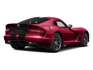 Adrenaline Red 2016 Dodge Viper Pictures Viper 2 Door Coupe photos rear view